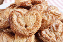 Palmeras, spanish palmier pastries Stock Images