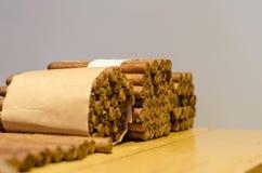 Palmeros cigars. Handmade cigars made in La Palma Royalty Free Stock Photo