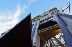 Palmerston miasta Północna biblioteka - Nowa Zelandia Obraz Stock