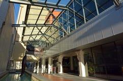 Palmerston miasta Północna biblioteka - Nowa Zelandia Zdjęcia Stock