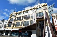 Palmerston miasta Północna biblioteka - Nowa Zelandia Zdjęcie Stock