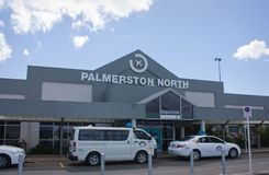 Palmerston North Airport Stock Image