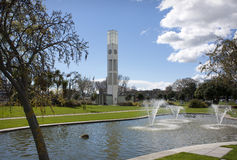Palmerston North. Central clock tower in the square, Palmerston North, New Zealand Stock Photography