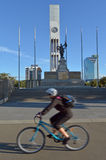Palmerston North - New Zealand - The Square Stock Image