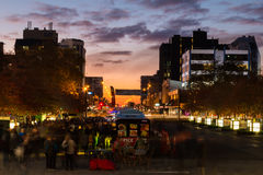 Palmerston North Night Food Royalty Free Stock Images