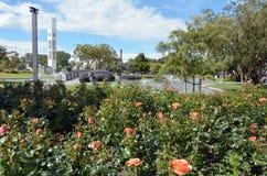 Palmerston północ kwadrat - Nowa Zelandia - obraz royalty free