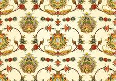 palmette bezszwowy Zdjęcia Royalty Free