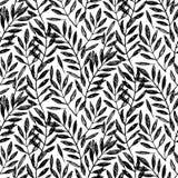 Palmettes tropicales, modèle sans couture de feuillage illustration stock