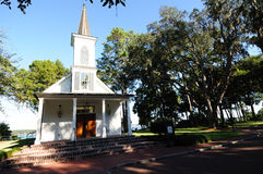 Palmetto Bluff Chapel. The chapel at Palmetto Bluff on the May river in SC is often used for weddings royalty free stock photography