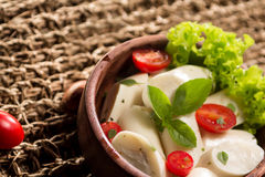Palmetto salad. Low calorie meal consumed in Brazil Royalty Free Stock Photography