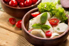 Palmetto salad. Low calorie meal consumed in Brazil Stock Photos