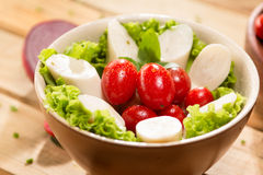 Palmetto salad. Low calorie meal consumed in Brazil Stock Image