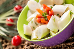 Palmetto salad Royalty Free Stock Image
