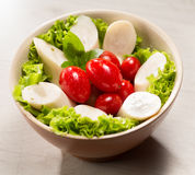 Palmetto salad. Low calorie meal consumed in Brazil Royalty Free Stock Image