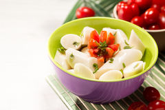 Palmetto salad. Low calorie meal consumed in Brazil Royalty Free Stock Photos
