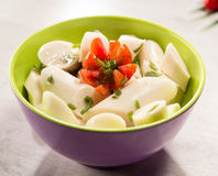 Palmetto salad. Low calorie meal consumed in Brazil Stock Images