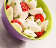 Palmetto salad. Low calorie meal consumed in Brazil Royalty Free Stock Images