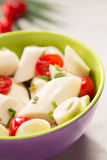 Palmetto salad. Low calorie meal consumed in Brazil Stock Photo