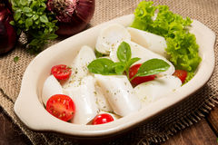 Palmettosalade stock foto