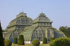 palmhuis in Wenen, Oostenrijk royalty-vrije stock foto