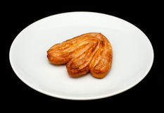 Palmier biscuit with sugar Stock Photography