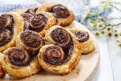Palmier biscuits - french dessert Royalty Free Stock Photography