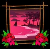 Palmier de dessin animé Photo stock
