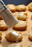 Palmier pastry Stock Images