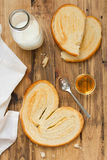Palmier on plate Royalty Free Stock Image