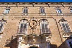 Palmieri Palace. Monopoli. Puglia. Italy. Stock Photography