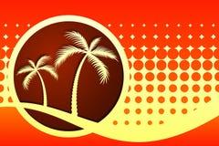 Palmiers illustration de vecteur