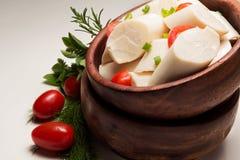 Palmingrediënt stock afbeelding