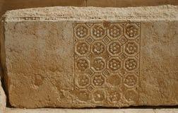 Palmira, Siria. Elementi architettonici. Fotografia Stock