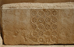 Palmira, Siria. Elementos arquitectónicos. Fotografía de archivo