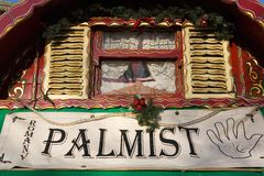 Palmist Photographie stock