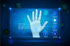 Palmistry Royalty Free Stock Photo