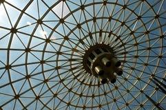 Palmo de la azotea Foto de archivo libre de regalías