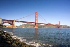 Palmo del puente de puerta de oro Imagen de archivo