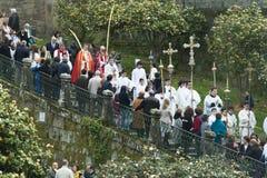 Palmowa Niedziela w Galicia (Hiszpania) Zdjęcie Stock