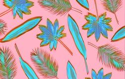 Palmowi li?cie zdjęcie royalty free