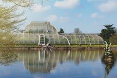 Palmowy dom, ikonowy Wiktoriański glasshouse który odtwarza tropikalnego lasu deszczowego klimat lokalizował przy Kew ogródem, An Zdjęcia Royalty Free