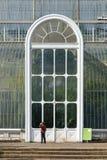Palmowy dom, ikonowy Wiktoriański glasshouse który odtwarza tropikalnego lasu deszczowego klimat lokalizował przy Kew ogródem, An Obrazy Royalty Free