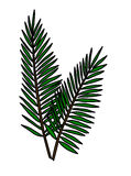 Palms. Of Ester Day on Friday good vector Stock Images