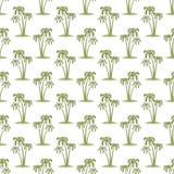 Palms pattern Stock Photography