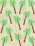 Palms pattern Royalty Free Stock Photo