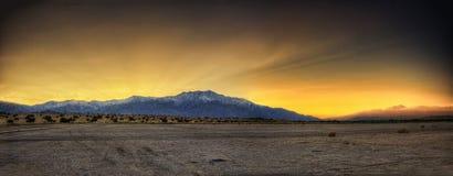 Palms Springs Sunset Royalty Free Stock Photo