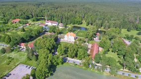 Free Palmse Manor Air Museum, Aerial View On A Sunny Summer Day, Estonia Stock Photography - 157918002