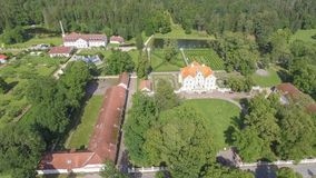Free Palmse Manor Air Museum, Aerial View On A Sunny Summer Day, Estonia Royalty Free Stock Photos - 157918398