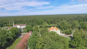 Free Palmse Manor Air Museum, Aerial View On A Sunny Summer Day, Estonia Stock Photography - 157919082