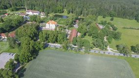 Free Palmse Manor Air Museum, Aerial View On A Sunny Summer Day, Estonia Royalty Free Stock Images - 157919659